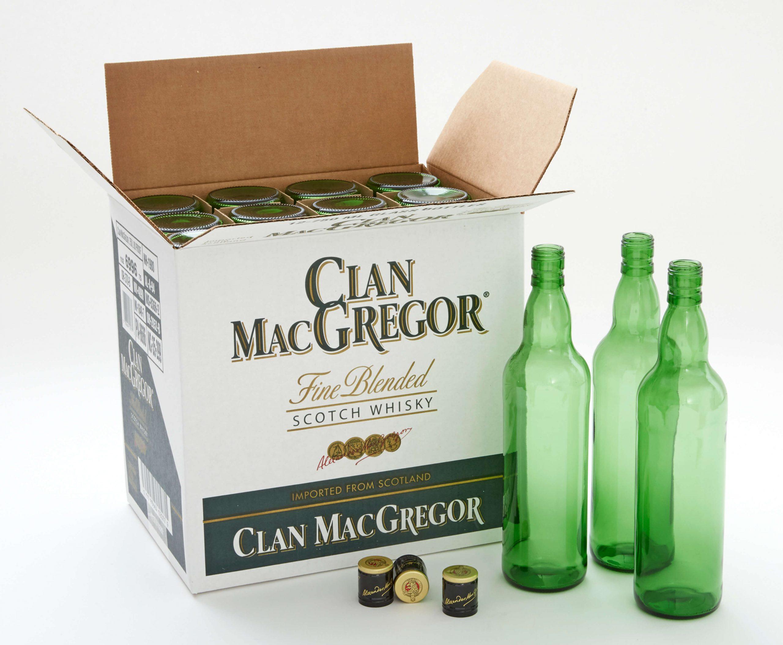Clan MacGregor branded box