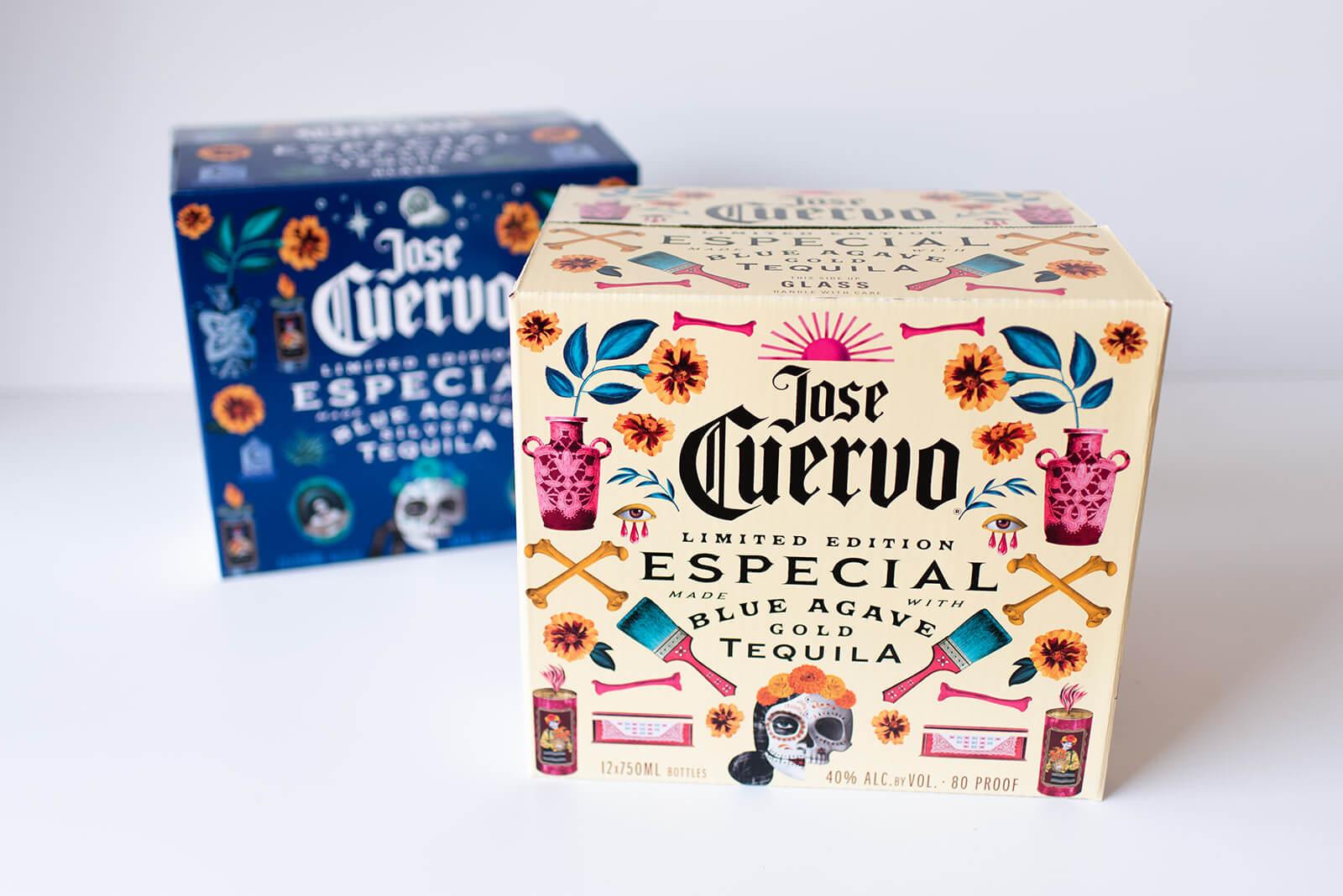 Jose Cuervo custom branded packaging